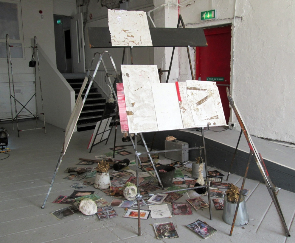 James McCann 'Monomania 3 2014 Mixed media sculptural installation