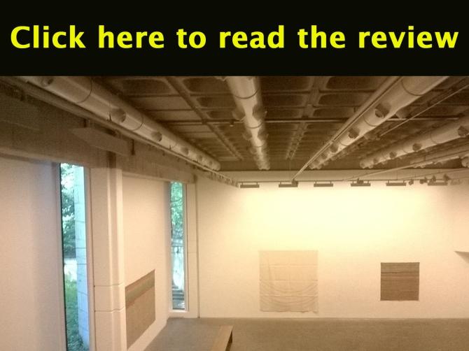 Review of 'Giorgio Griffa /Corita', The Douglas Hyde Gallery, Dublin, ireland, May 2014