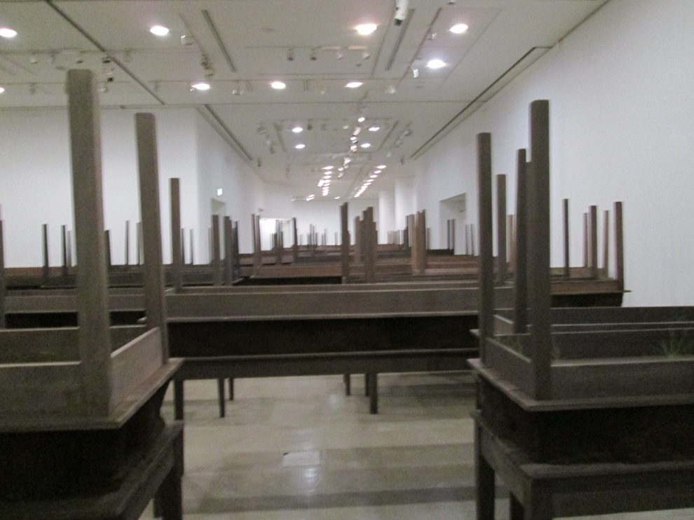 Hiroshima Museum of Contemporary art  Doris Salcedo