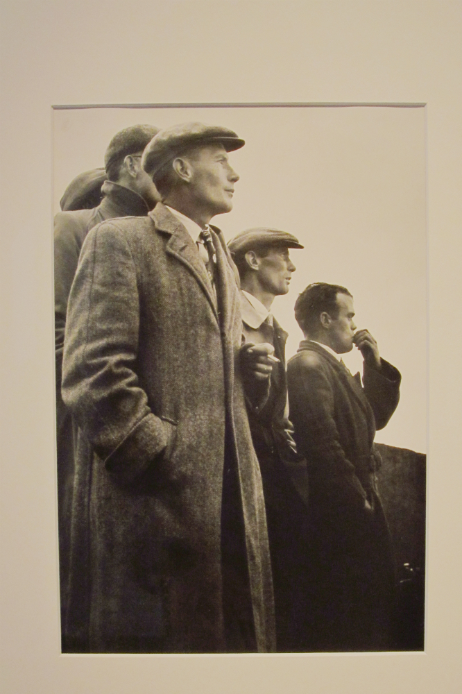 Ireland, Group of Men, 1954, Gelatin silver print, 24.1 x 15.2cm (by Dorethea Lange).