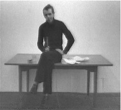 Kevin Atherton. In Two Minds – Past Version, 1978-2006 (stills); two-channel video installation with sound, 25 min.; Courtesy the artist; © 2009 Kevin Atherton.